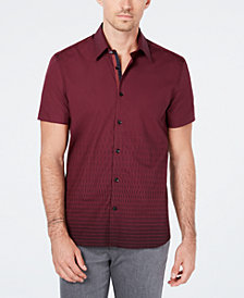 Ryan Seacrest Distinction™ Men's Dash-Print Shirt, Created for Macy's