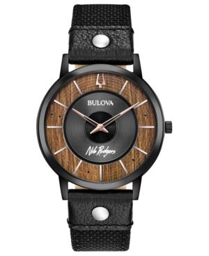 Bulova LIMITED EDITION BULOVA MEN'S NILE RODGERS LE FREAK BLACK CORDURA NYLON STRAP WATCH 40MM - A SPECIAL
