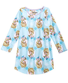 Frozen Little & Big Girls Printed Nightgown
