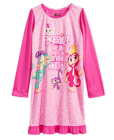 AME Little & Big Girls Fingerlings-Print Nightgown