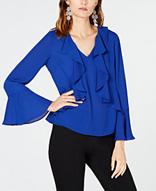 I.N.C. Ruffled Top, Created for Macy's