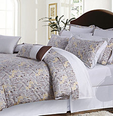 Tribeca Living Fiji 12-Pc. Cotton Full Comforter Set