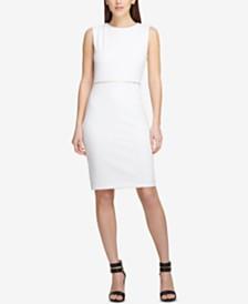 DKNY Embellished Sheath Dress, Created for Macy's