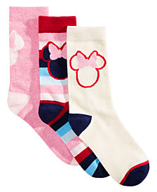 Planet Sox 3-Pk. Minnie Mouse Socks Gift Box
