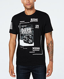 INC Men's Dark Ride Graphic T-Shirt, Created for Macy's