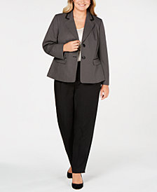 Le Suit Plus Size Unmatched Pantsuit