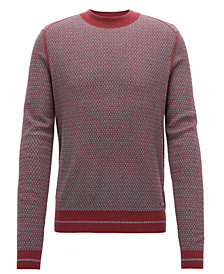BOSS Men's Crew-Neck Sweater