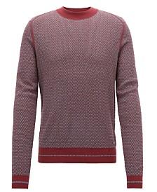 BOSS Men's Crew-Neck Sweater