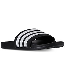 3cbca8ae2 adidas Men s Adilette Slide Sandals from Finish Line   Reviews - All ...