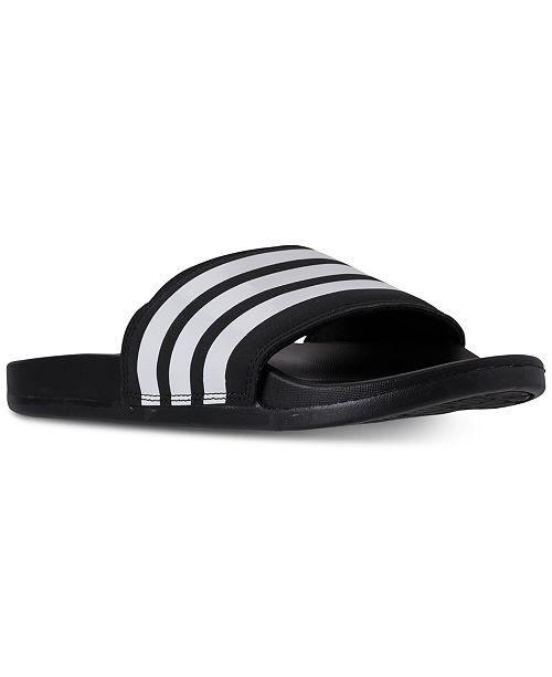 Men's From Slide Sandals Line Finish Adilette Comfort Adidas 8PynwmNO0v