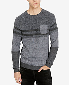 Buffalo David Bitton Men's Classic Fit Heathered Watextur Sweater