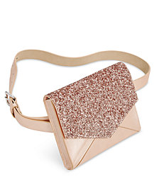 I.N.C. Glitter & Metallic Fanny Pack, Created for Macy's