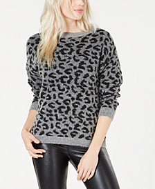 Marella Gino Animal-Print Sweater