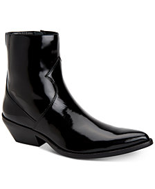 Calvin Klein Jeans Men's Alden Box Calf Leather Boots