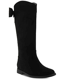 Kenneth Cole Little & Big Girls Kennedy Bow Tall Boots