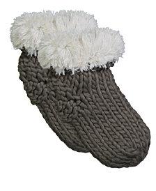 Lemon Adirondack Slipper Socks