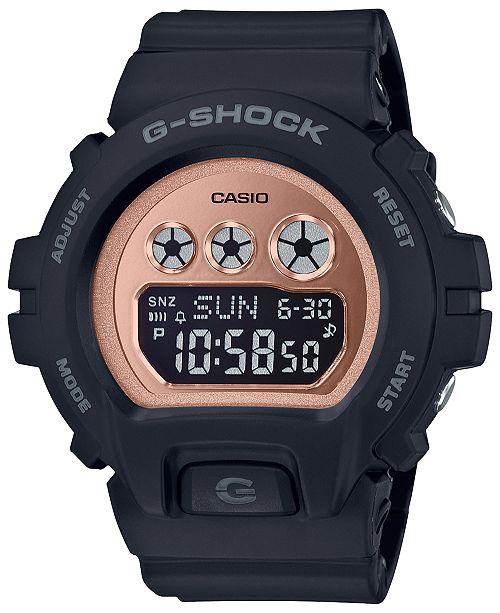 6e85d1497 G-Shock Women's Digital Black Resin Strap Watch 46mm & Reviews ...