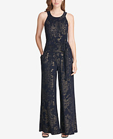 Tommy Hilfiger High-Neck Jumpsuit