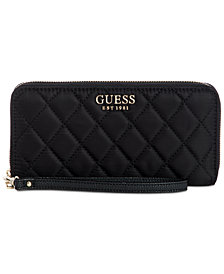 GUESS Sweet Candy Zip-Around Nylon Wallet