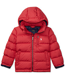 Polo Ralph Lauren Toddler Boys Quilted Down Jacket