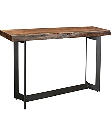 Bent Console Table Smoked