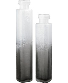 Barlow Vases Set Of Two White And Gray