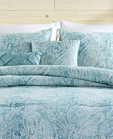 VCNY Home Keisha 5-Pc. Paisley Full/Queen Comforter Set