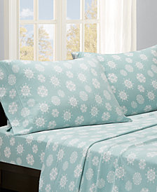 True North by Sleep Philosophy Micro Fleece 4-PC Full Sheet Set