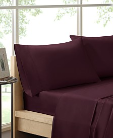 Madison Park 600 Thread Count 4-PC California King Pima Cotton Sheet Set