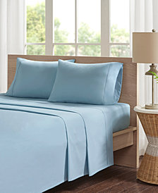 Madison Park Peached Percale 4-PC Queen Cotton Sheet Set