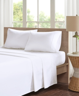 Image of Madison Park Peached Percale 4-pc Full Cotton Sheet Set Bedding