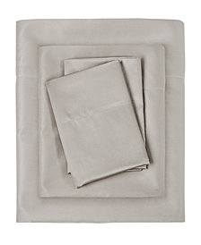 Sleep Philosophy 300 Thread Count Liquid Cotton 4-PC Queen Sheet Set