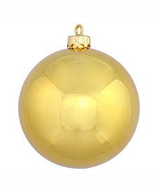 "3"" Gold Shiny Ball Christmas Ornament, 12 per Bag"
