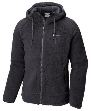 COLUMBIA Men'S Csc Sherpa Full-Zip Jacket, Black
