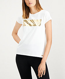 Calvin Klein Foil Logo T-Shirt