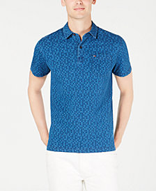 Tommy Hilfiger Men's Custom Fit Glenn Polo