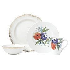 Lenox Passion Bloom 4 Piece Place Setting