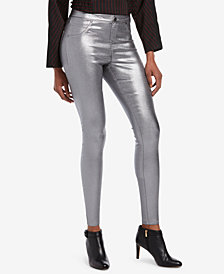 HUE® Iridescent Denim Leggings