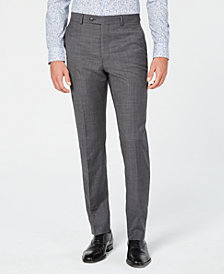 Original Penguin Men's Slim-Fit Sharkskin Solid Suit Pants