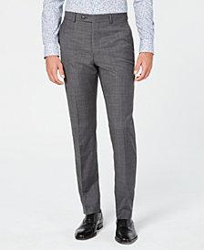 Original Penguin Men's Slim-Fit Sharkskin Solid Suit Pants
