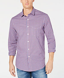 Club Room Men's Blaine Plaid Shirt, Created for Macy's