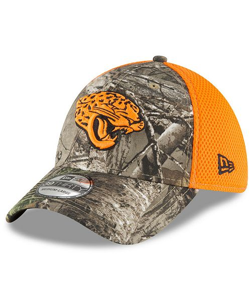 new york 046a9 933f6 ... Jacksonville Jaguars Realtree Hunter Neo 39THIRTY Stretch Fitted Cap ...