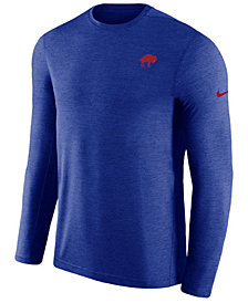 Nike Men's Buffalo Bills Coaches Long Sleeve Top