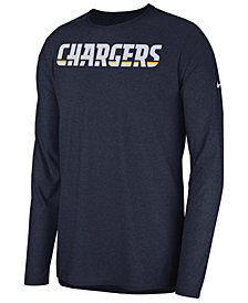 Nike Men's Los Angeles Chargers Player Long Sleeve Top