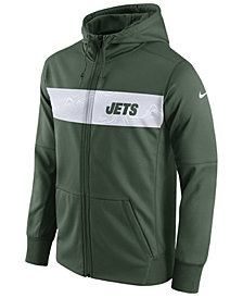 Nike Men's New York Jets Seismic Therma Full-Zip Hoodie