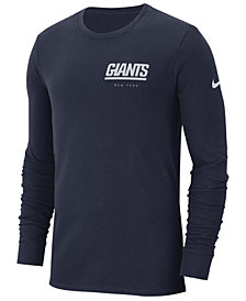 Nike Men's New York Giants Heavyweight Seal Long Sleeve T-Shirt