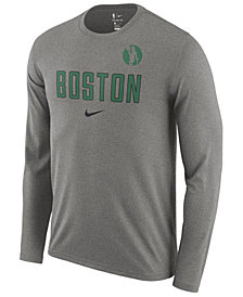 Nike Men's Boston Celtics Essential Facility Long Sleeve T-Shirt