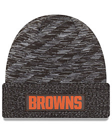 New Era Cleveland Browns Touch Down Knit Hat