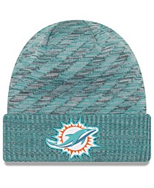 Miami Dolphins Touch Down Knit Hat