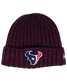 New Era Women's Houston Texans On Field Knit Hat